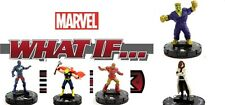 Heroclix Marvel What If? #020 ONI LEADER, 019 CAPT BRITAIN, 018 THOR, 015, 013