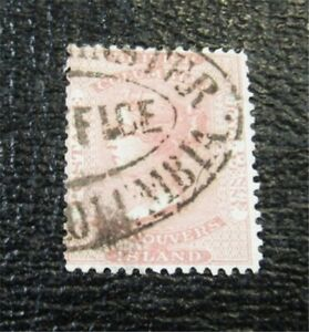 nystamps Canada British Columbia & Vancouver Island Stamp # 2 Used $255 F26x2118