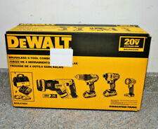 DEWALT 20V MAX Brushless Cordless 4-Tool Combo Kit DCK476D2 BRAND NEW