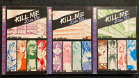 Kill Me, Kiss Me 1, 2, 3 Manga Graphic Novel OOP Romance Tokyopop