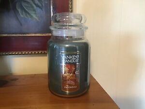 Yankee Candle PATCHOULI 22 OZ. LARGE JAR HTF SCENT