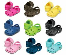 8fded9796 Crocs Classic Kids Clogs - Genuine Boys And Girls Crocs - Eleven New Colours