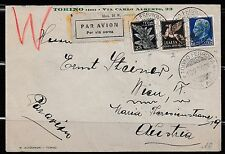 1934 Torino to Wien attractive cover