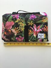 Herschel Supply Co Hoffman Jungle Floral Sprout Diaper Changing Pad New 10-2