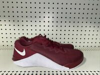 Nike Metcon 5 Mens Athletic Cross Training Shoes Size 8 Maroon White AQ1189-692