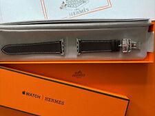 Apple Watch Hermès 44/42mm Single Tour Barenia-Leder/Ebene+Steel Buckel NP 568,€