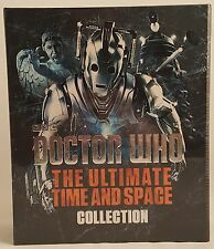BBC Doctor Who  Ultimate Time And Space Collection Hardcover Book Set TPB TPBS