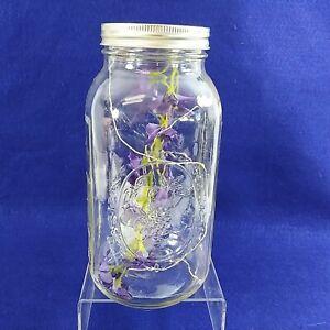 "Ball Mason Jar Lantern Light Storage Canister Collins Creek Collection 9.5"" Tall"