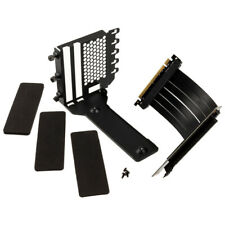 Phanteks Vertical GPU Bracket, 220mm PCI-E x16 Riser Ribbon Cable Kit