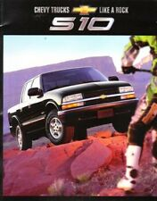2002 02 Chevrolet S10 Pickup  original sales  brochure
