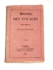 HISTOIRE DES VOYAGES Par James BRUCE 1730-1794 Afrique Gondar Ethiopie Nil bleu
