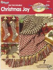 On the Double Christmas Joy holiday crochet patterns - 2001