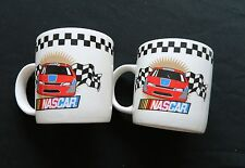 New ListingNascar Victory 2 Coffee Cups / Mugs Marketed by Gibson 2002 Licensed by Nascar