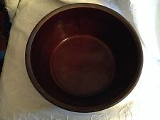Marcrest Stoneware Daisy Dot Bowl and Covered Casserole - Brown
