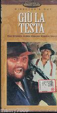 VHS= Giù la testa (1971) VHS=IL CINEMA DI SERGIO LEONE=VOL.N°1 DELLA COLLANA