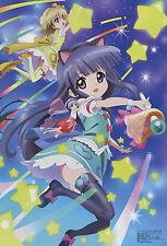 Higurashi no Naku Koro ni / Kamisama Dolls poster promo Furude Rika Kuga anime
