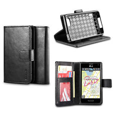 IZENGATE Flip Wallet Case PU Leather Cover Folio for LG Optimus F3 MS659/P659