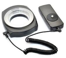 JJC LED-48IO 48PCS Universal DSLR Camera Macro LED Ring Light with Adapter NIB