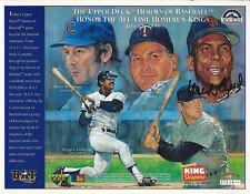 1994 Autograph Signed Orlando Cepeda, Mickey Mantle, Reggie Jackson, H Killebrew