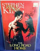 THE DARK TOWER #3 THE LONG ROAD HOME SIGNED PETER DAVID COA NICE HIGH GRADE 2008