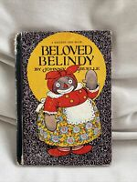 Beloved Belindy Book 1st Edition 1926 Johnny Gruelle Black Americana vintage