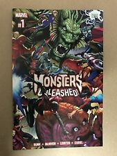 MONSTERS UNLEASHED #1 MARVEL COMICS (2017) SPIDER-MAN VISION THOR AVENGERS