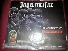 "JAGERMEISTER JAGER BOMB  ADVERTISING WALL BAR SIGN 12.5"" X 14"" FOOTBALL"