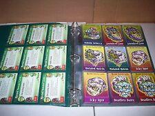 1999 MORBID MONSTER 90 CARD SET IN BINDER NOSTALGI CARDS - WILLIAM  D. BRISTOW