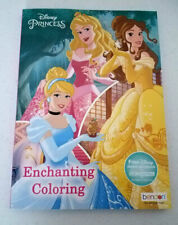 Disney Princess Enchanted Coloring Activity Book W/ Bonus Free Digital Storybook
