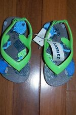 NWT Boys Toddler size 5 OLD NAVY Sandals Flip Flops