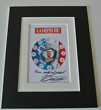 Just Fontaine Signed Autograph 10x8 photo display France World Cup Football COA