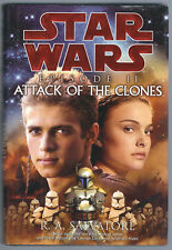 Star Wars ATTACK OF THE CLONES Episode II R. A. Salvatore Book 1ST Ed. Printing