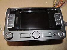 09 10 -16 VW TIGUAN GOLF PASSAT JETTA NAVIGATION GPS RADIO CD DISPLAY 1K0035274B