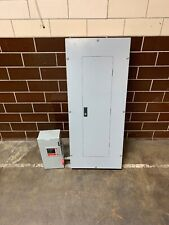 Cutler Hammer Prl2A 100A Panelboard 30 Circuit Ghb Breakers W/60A Safety Switch