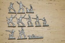 Soviet toy - iron tin soldiers! 11 pieces! the USSR Red Army Military