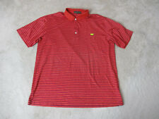 Augusta National The Masters Polo Shirt Adult Extra Large Red Blue Golfer Mens