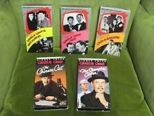 Lot of 5 VHS Charlie Chan