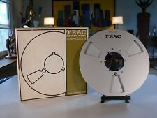 """Teac 12"""" Take-Up RE-1002 Empty Reel to Reel Tapes Teac AkaiTascam Audiophile"""