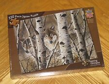 David Wenzel Art - Fleeting Glimpse - Wolf - Masterpieces 550 Pc Puzzle - Sealed