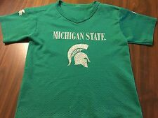 MICHIGAN STATE SPARTANS   NCAA  FOOTBALL JERSEY  BY   YOUTH  SMALL  5 / 6