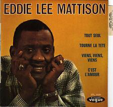 EDDIE LEE MATTISON TOURNE LA TETE FRENCH ORIG EP JEAN BOUCHETY