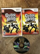 Guitar Hero: World Tour (Nintendo Wii, 2008). Complete Tested