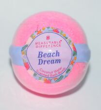 BATH BODY WORKS BEACH DREAM COCONUT WATER PINK BOMB BALL MEASURABLE DIFFERENCE