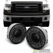 Smoke 2006-2010 Ford F150 LOBO Halo Projector Fog Lights Lamps w/ Switch+Bulbs