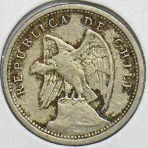 Chile 1928 10 Centavos Condor animal 152696 combine shipping