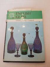English Glass Sidney Crompton Book HC DJ VG 1968