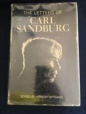 1968 First Edition:The Letters of Carl Sandburg by Mitgang Herbert Hardcover