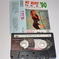 HIT MUSIC USA 90 VOL 9 THOMSUN IMPORT CASSETTE TAPE ALBUM PRINCE MARIAH JANET