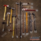HALLOWEEN FOAM LARP PROPS Axe Bat Hammer Crowbar Pipe Cleaver Sledgehammer Spear