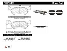 Ceramic Disc Brake Pad Set-C-TEK  Brake Pads Rear Centric fits 2012 Ford F-150
